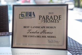 2015 Best Landscape Design Award