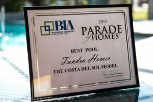 2015 Best Pool Award