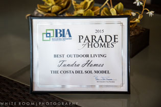 2015 Best Outdoor Living Award