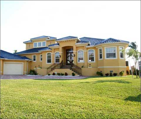 Cape coral custom home builders tundra homes fort myers for Riverfront house plans