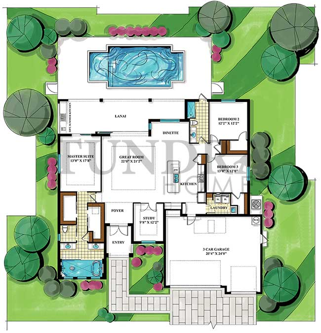 New Verano Model floor plan