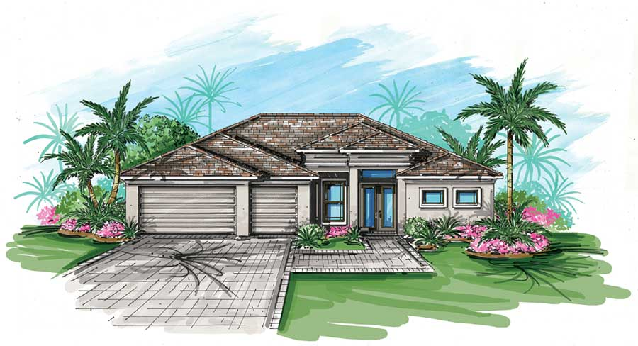 Mallory floor plans tundra homes new home builders cape coral the mallory starting from the 360s malvernweather Gallery