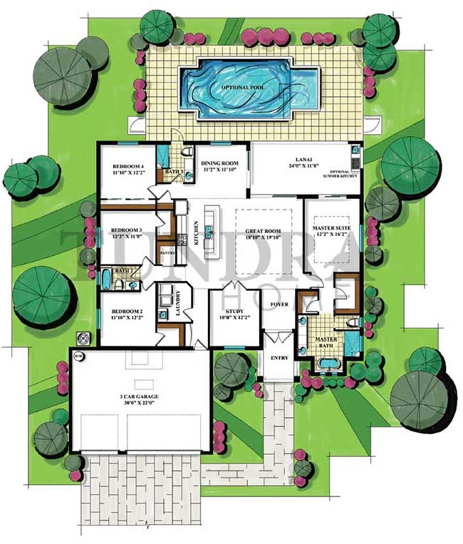 Pearl Floor Plan
